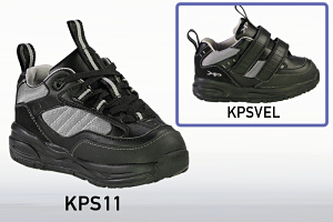 KPS11 Laced and Velcro Athletic Shoes