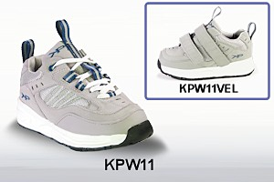 KPW11 Laced and Velcro Athletic Shoe